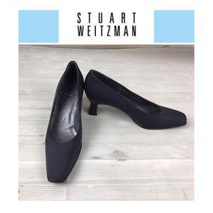 Stuart Weitzman Blue Pump Shoes. Sz 7B
